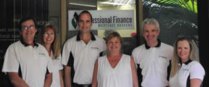 A team with our mortgage broker in Taree